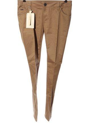 Zara Woman Straight-Leg Jeans braun Casual-Look