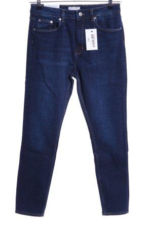 Zara Woman Stretch Jeans blue casual look