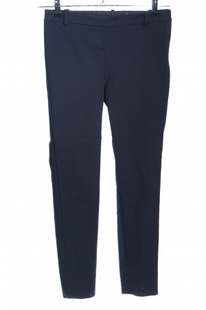 Zara Woman Stretchhose blau Casual-Look