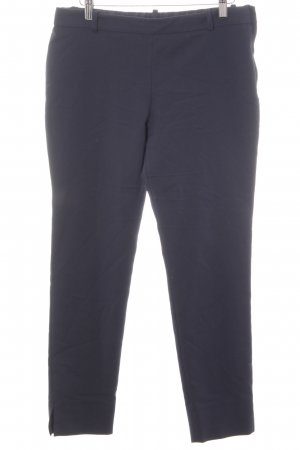 Zara Woman Stretchhose blau Business-Look