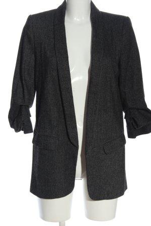 Zara Woman Blazer tejido negro estilo «business»