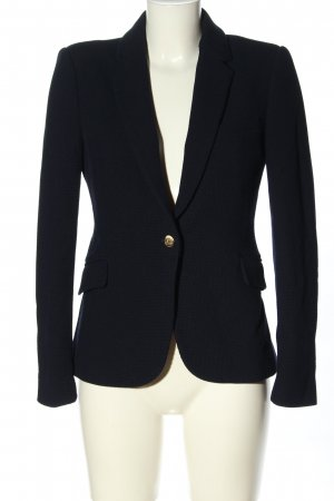 Zara Woman Knitted Blazer blue casual look