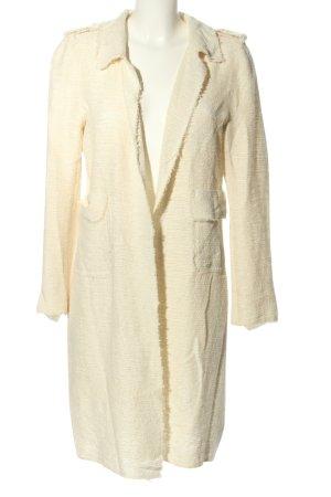 Zara Woman Strickjacke creme Casual-Look