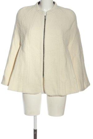 Zara Woman Strickponcho creme Casual-Look