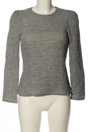 Zara Woman Strickpullover hellgrau meliert Casual-Look