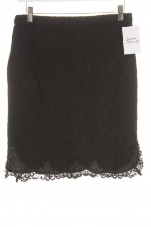 Zara Woman Knitted Skirt black casual look