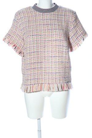 Zara Woman Strickshirt meliert Casual-Look