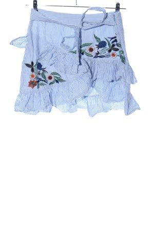 Zara Woman Stufenrock Blumenmuster Casual-Look