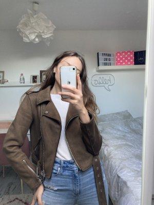 Zara Woman stylische Kunst-Leder S/36
