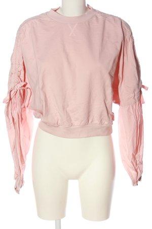 Zara Woman Sweatshirt pink Casual-Look