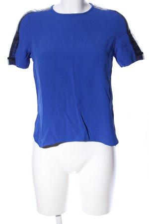 Zara Woman T-Shirt blau Casual-Look