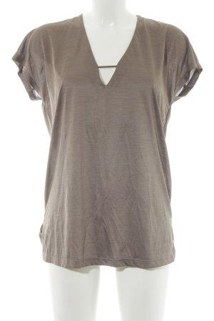 Zara Woman T-Shirt grau Casual-Look