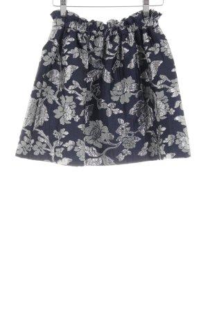 Zara Woman Tellerrock Blumenmuster Elegant