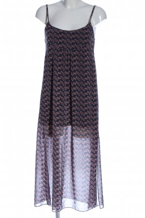 Zara Woman Abito scamiciato stampa integrale stile casual