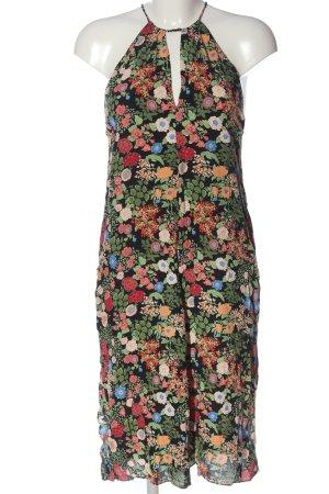 Zara Woman Abito scamiciato motivo floreale stile casual