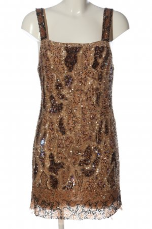 Zara Woman Abito scamiciato color carne elegante