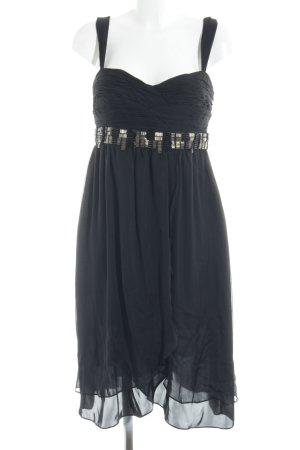 Zara Woman Abito scamiciato nero elegante