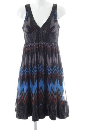 Zara Woman Abito scamiciato multicolore elegante