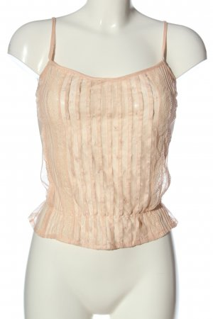 Zara Woman Trägertop creme Casual-Look
