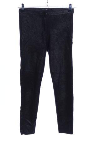 Zara Woman Treggings nero puntinato stile casual