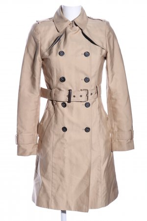 Zara Woman Trenchcoat wollweiß Casual-Look