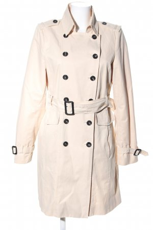 Zara Woman Trenchcoat creme Business-Look
