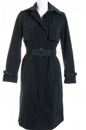 Zara Woman Trenchcoat dunkelgrün Casual-Look