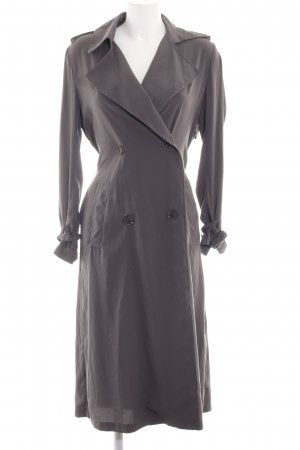 Zara Woman Trenchcoat hellgrau Business-Look