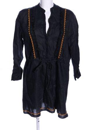 Zara Woman Tunika schwarz Casual-Look