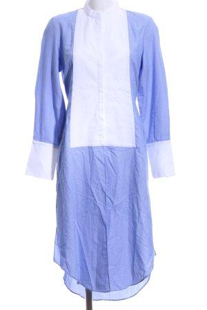 Zara Woman Tunikabluse blau-weiß Elegant