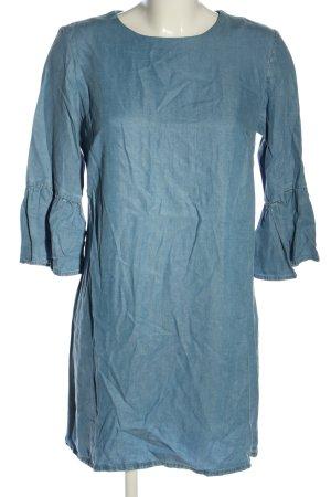 Zara Woman Tunikakleid blau Casual-Look