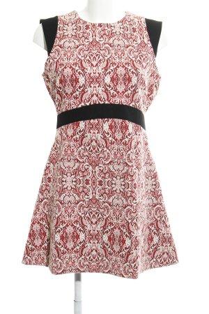 Zara Woman Vestido tipo túnica estampado con aplicaciones estilo sencillo