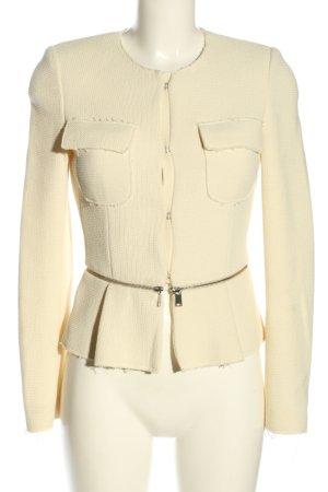 Zara Woman Tweedblazer creme Street-Fashion-Look