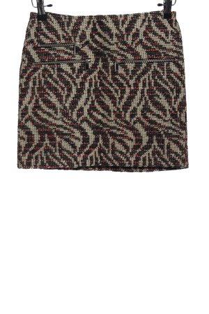 Zara Woman Tweed Skirt allover print casual look