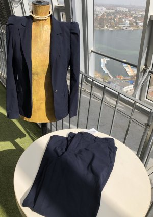 Zara Woman Business Suit dark blue
