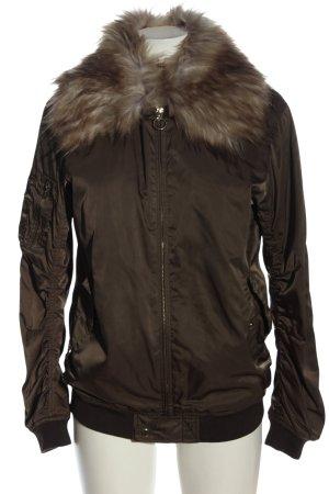 Zara Woman Kurtka przejściowa brązowy W stylu casual