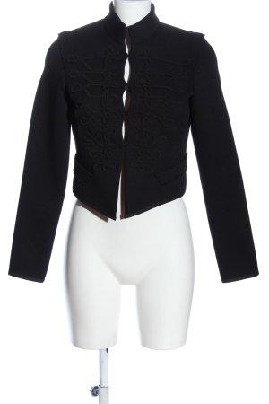 Zara Woman Kurtka przejściowa czarny W stylu casual