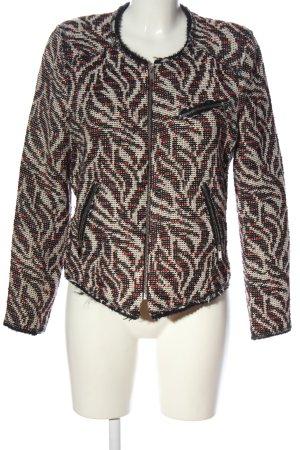 Zara Woman Übergangsjacke abstraktes Muster Casual-Look