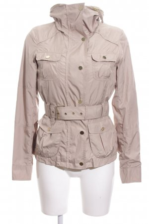 Zara Woman Übergangsjacke creme Casual-Look