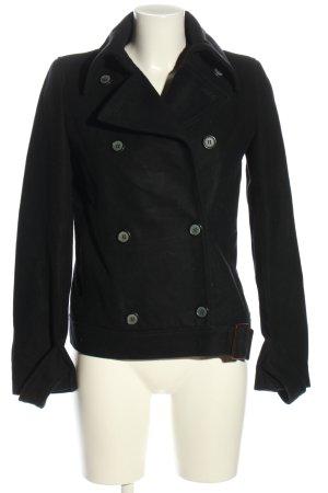 Zara Woman Übergangsjacke schwarz Business-Look