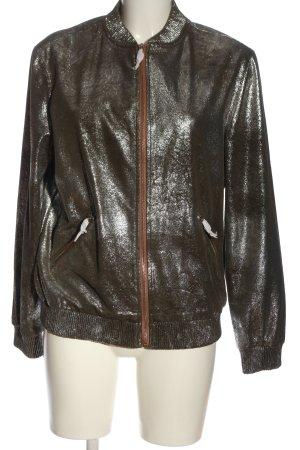 Zara Woman Kurtka przejściowa srebrny W stylu casual