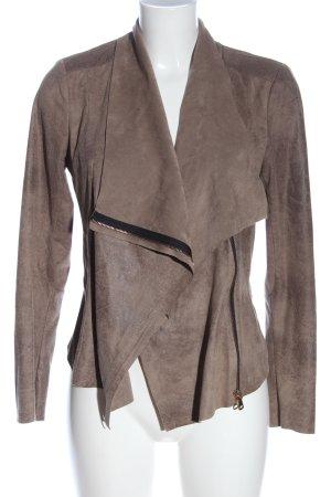 Zara Woman Kurtka przejściowa brązowy-czarny W stylu casual