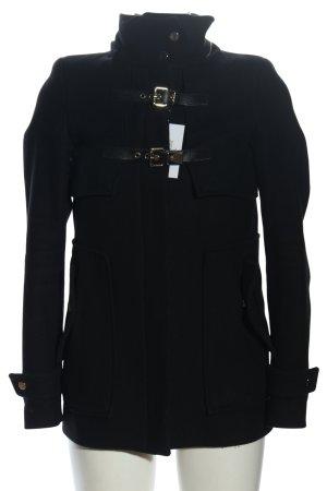 Zara Woman Übergangsjacke schwarz Casual-Look