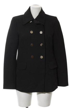 Zara Woman Übergangsjacke schwarz klassischer Stil