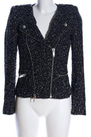 Zara Woman Übergangsjacke Allover-Druck Casual-Look