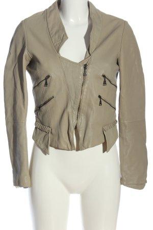 Zara Woman Übergangsjacke hellgrau Casual-Look