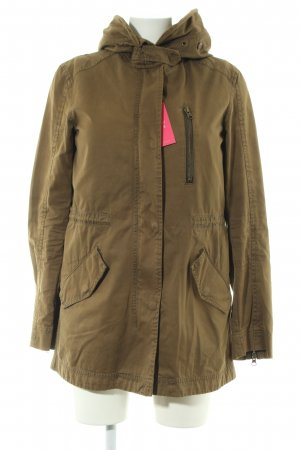 Zara Woman Übergangsjacke bronzefarben Casual-Look
