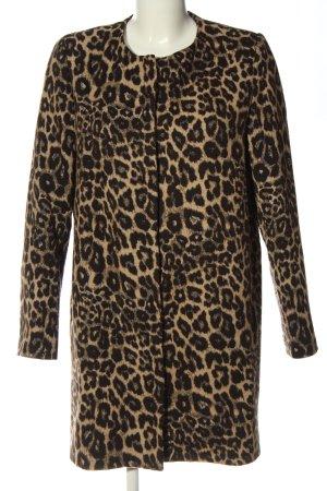 Zara Woman Übergangsmantel Allover-Druck Casual-Look