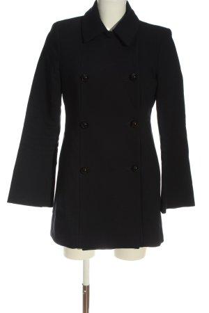 Zara Woman Übergangsmantel schwarz Casual-Look