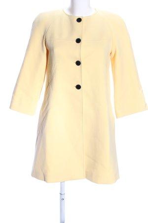 Zara Woman Übergangsmantel creme Casual-Look